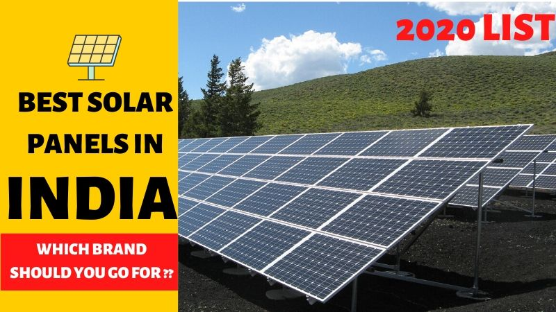 Top 10 Solar Companies in India in 2020