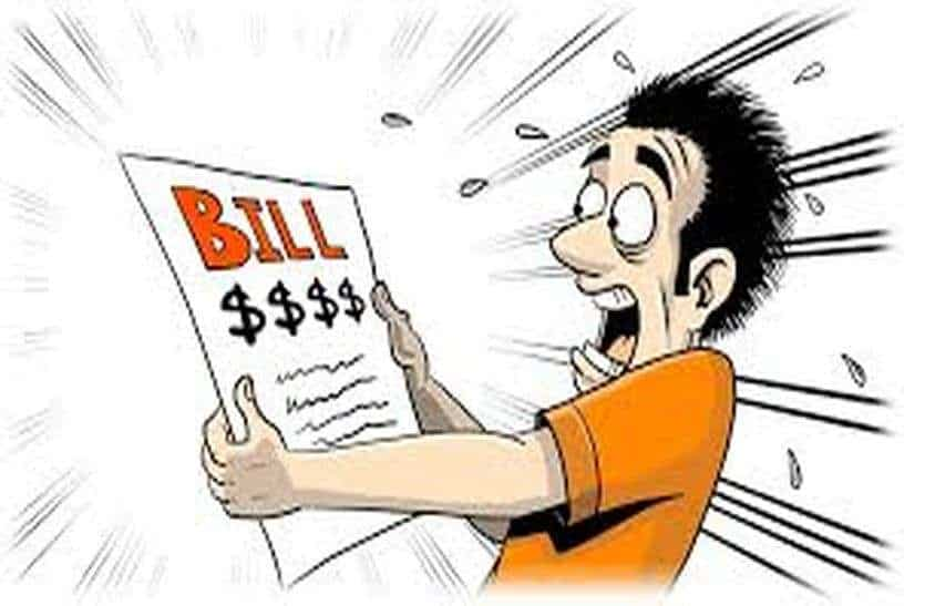 Why My Electricity Bill Is So High And How To Rectify It.