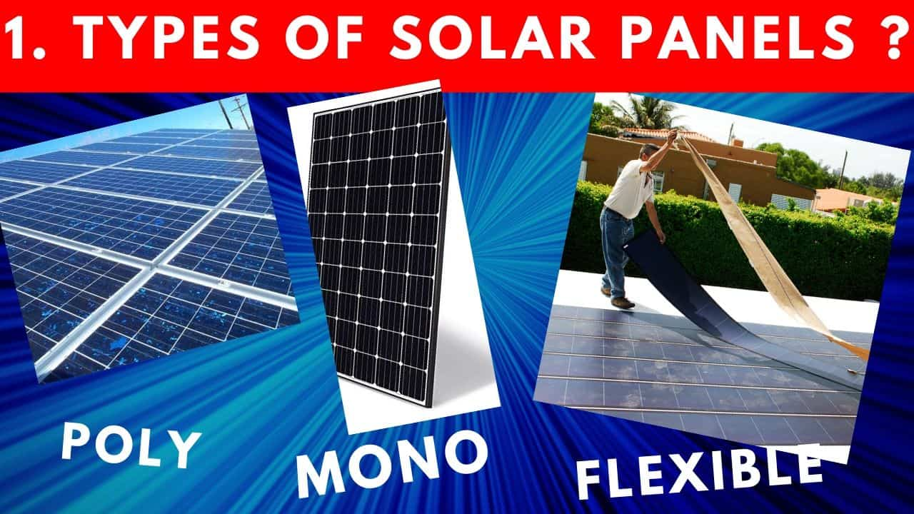 Types of Solar Panels, When & Where To Use Mono & Poly?
