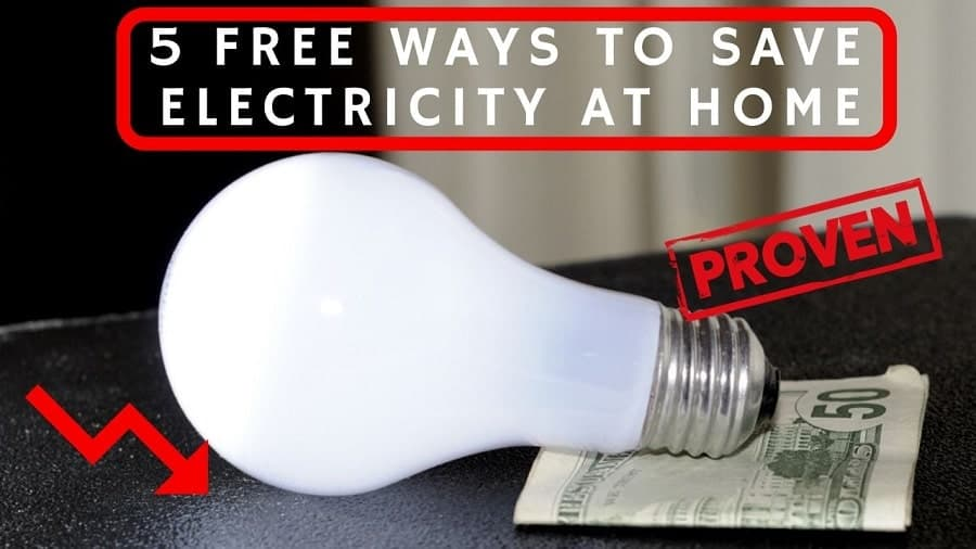 Best Free Ways To Save Electricity Bill Of Your House