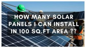 How Much Rooftop Area is Needed To Install Solar Panels?