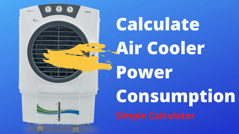 Air-Cooler-Power-Consumption-calculator