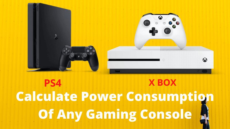 Calculate Power Consumption Of Gaming Console