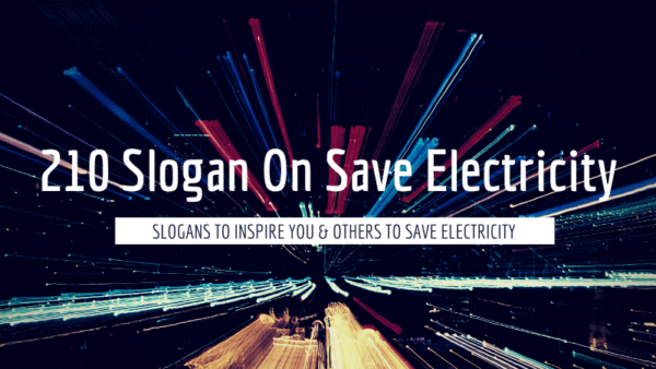 Slogan-On-Save-Electricity
