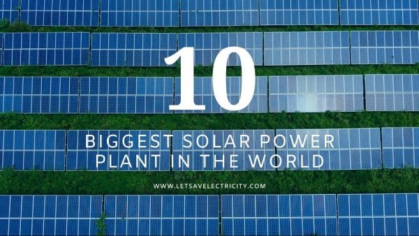 Top 10 Largest Solar Power Plant In The World | World's Largest Solar Plant