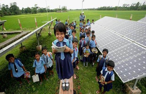 save electricity in school by installing solar